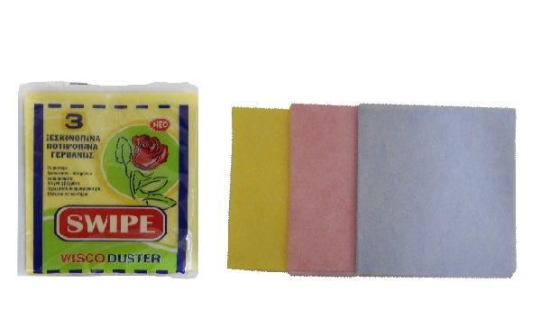 SWIPE πανάκια Καθαρισμού σετ 3 τεμάχια